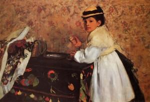 Hortense Valpinçon de niña